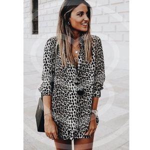 SYBIL Animal print Dress